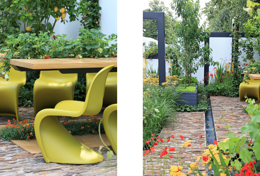 greencube garden design wins gold and best small garden at the hampton court flower show
